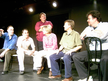 Legendary improv troupe The Swarm