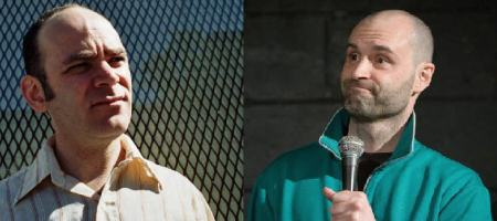 Todd Barry and Ted Alexandro