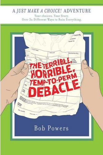 Author Bob Powers' new interactive adventure for adults