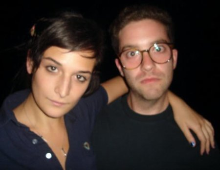 Jenny Slate & Gabe Liedman, who tonight celebrate the one-year anniversary of Big Terrific