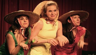 The Apple Sisters, one of over two dozen sketch comedy troupes at this year's spectacular SketchFest NYC