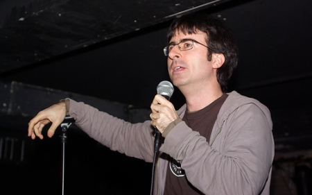 John Oliver completes his spectacular three-evening comedy club run tonight at Comix