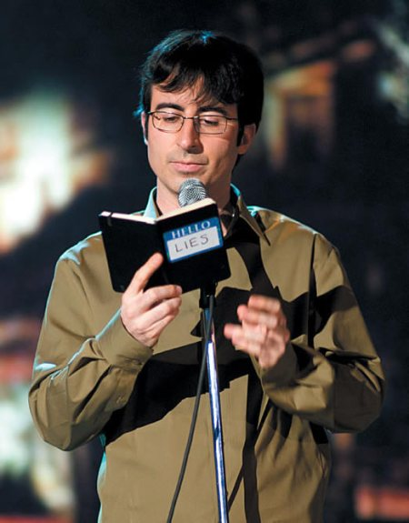 John Oliver practices for his next Comedy Central special tonight at both Punch Up Your Life (free) and Sweet ($5)