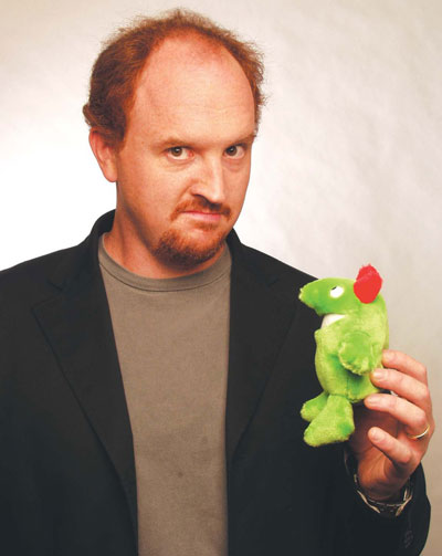 Louis C.K. shows he's one of the funniest storytellers alive tonight through Sunday at Carolines