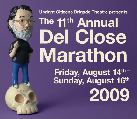 The magical and unforgettable Del Close Improv Marathon runs non-stop from tonight through Sunday