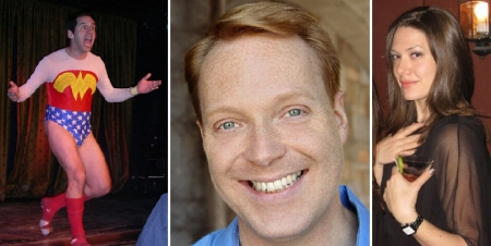 Seth Herzog, Kevin Allison, and Michelle Collins