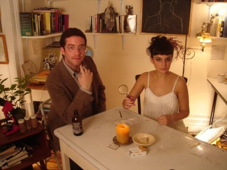 Gabe Liedman and Jenny Slate