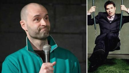 Ted Alexandro and Michael Ian Black