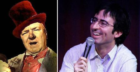 W.C. Fields and John Oliver