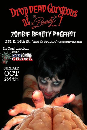 The Drop Dead Gorgeous Zombie Beauty Pageant