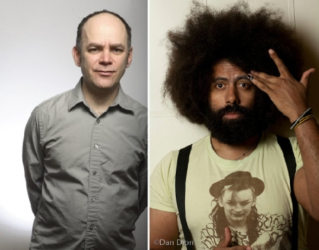 Todd Barry and Reggie Watts