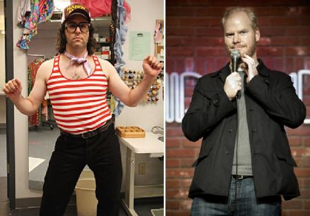 Judah Friedlander and Jim Gaffigan