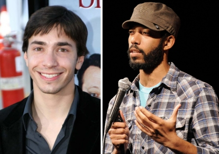 Justin Long and Wyatt Cenac