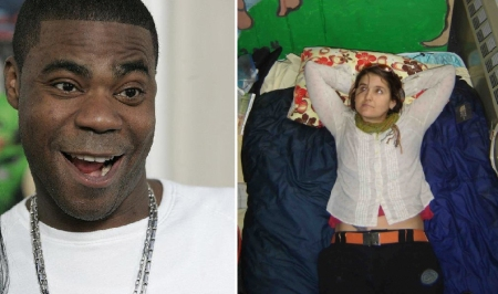 Tracy Morgan and Melanie Hamlett