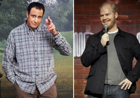 Brad Garrett and Jim Gaffigan