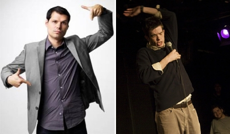 Michael Ian Black and John Mulaney