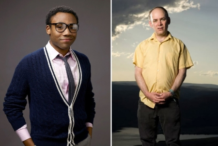 Donald Glover and Todd Barry
