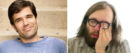 Rob Delaney and Daniel Kitson