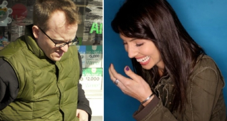 Chris Gethard and Whitney Cummings