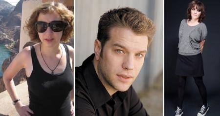 Kristen Schaal, Anthony Jeselnik, and Jen Kirkman