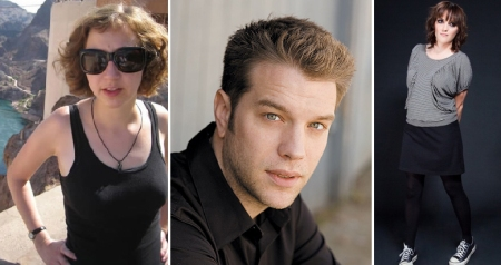 Kristen Schaal, Anthony Jeselnik, and Jen Kirkman