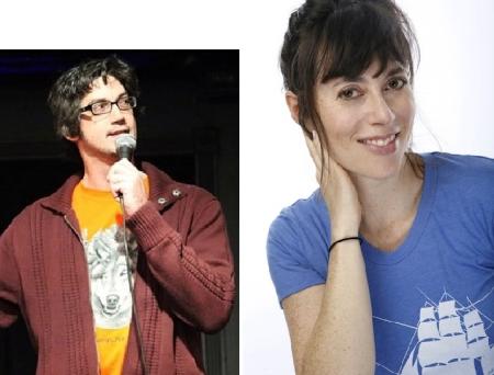 Leo Allen and Andrea Rosen