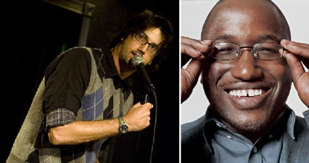 Leo Allen and Hannibal Buress