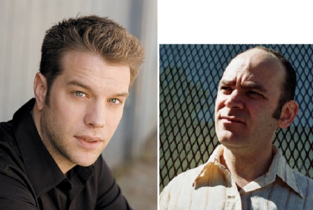 Anthony Atamanuik and Todd Barry
