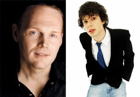 Bill Burr and Simon Anstell