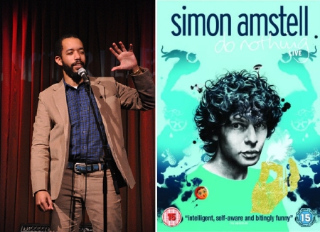 Wyatt Cenac and Simon Amstell