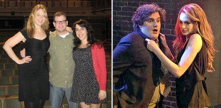 Adam Wade and Bobby Moynihan