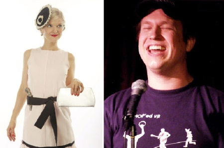 Arden Myrin and Pete Holmes