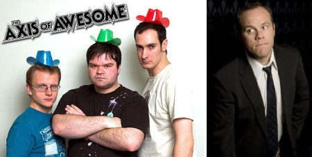 The Axis of Awesome and Tom Papa
