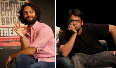 Jason Mantzoukas and Ed Herbstman