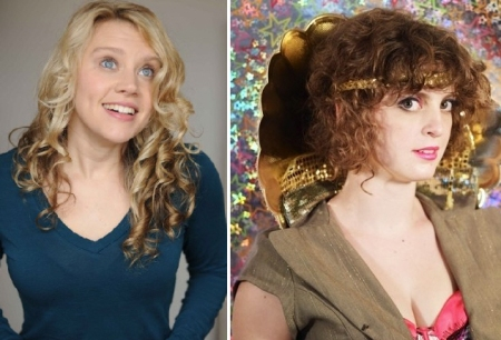 Kate McKinnon and Adira Amram