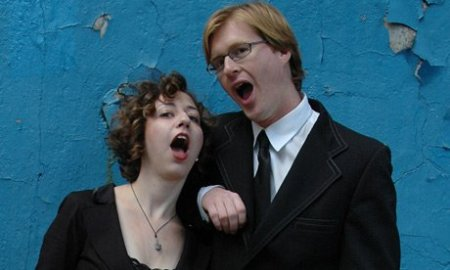 Kristen Schaal and Kurt Braunohler