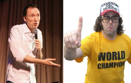 Tom Shillue and Judah Friedlander