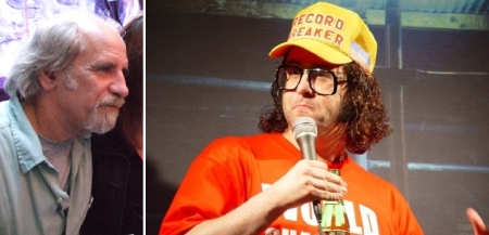 Andy Christie and Judah Friedlander