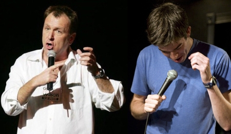 Colin Quinn and John Mulaney