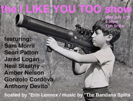 Erin Lennox's The I LIke You Too Show