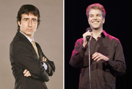 John Oliver and Anthony Jeselnik