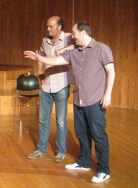 Scott Adsit and John Lutz