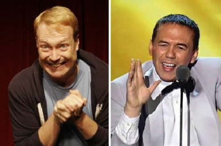 Kevin Allison and Gilbert Gottfried