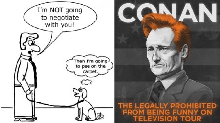 Conan O'Brien Trade Negotiations