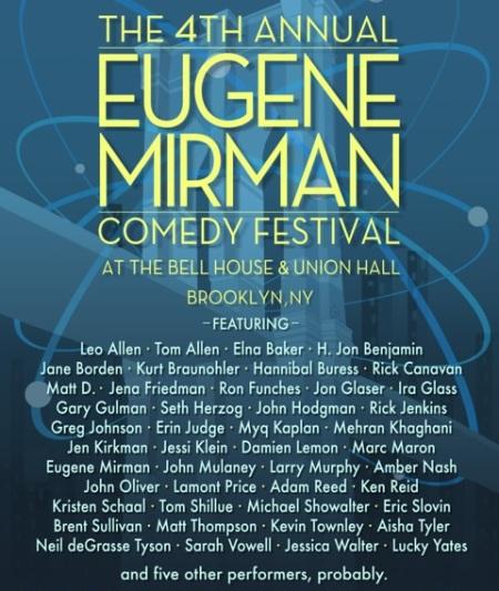 Eugene Mirman Comedy Festival 2011