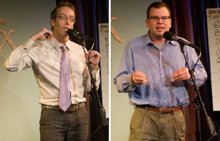 Jim O'Grady and Adam Wade