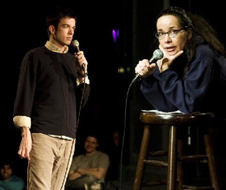 John Mulaney and Janeane Garofalo