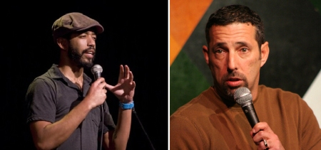 Wyatt Cenac and Rich Vos