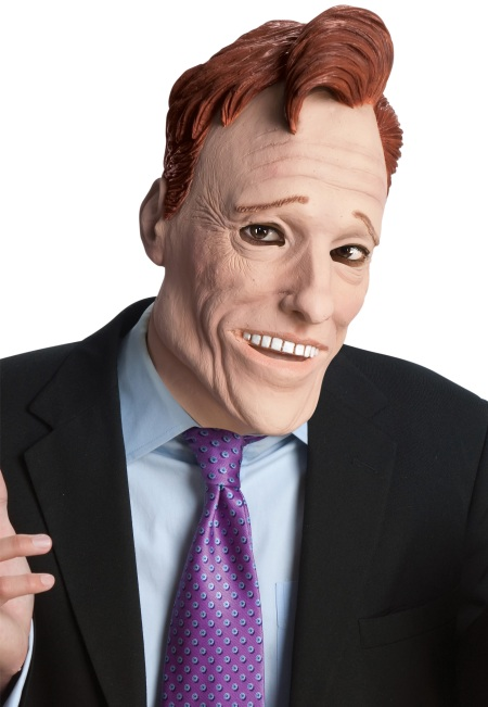Conan O'Brien Halloween Mask