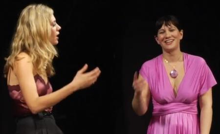 Brenna Palughi and Katharine Heller